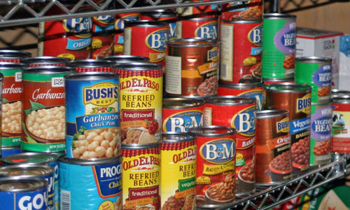 What you need for a one year emergency food supply for Cuisine equipement