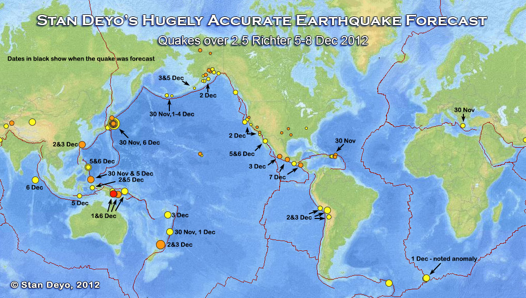 Stan deyos hugley accurate earthquake volcanic forecasts this is dec 8 hits map publicscrutiny Image collections