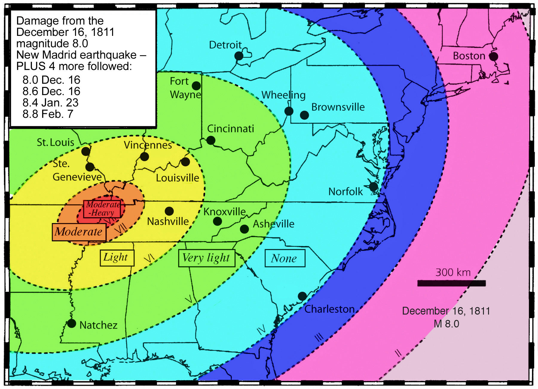 How Many Will In The New Madrid Earthquake Cleveland Etc Be Calm Prepare Pray Away Help Each Other