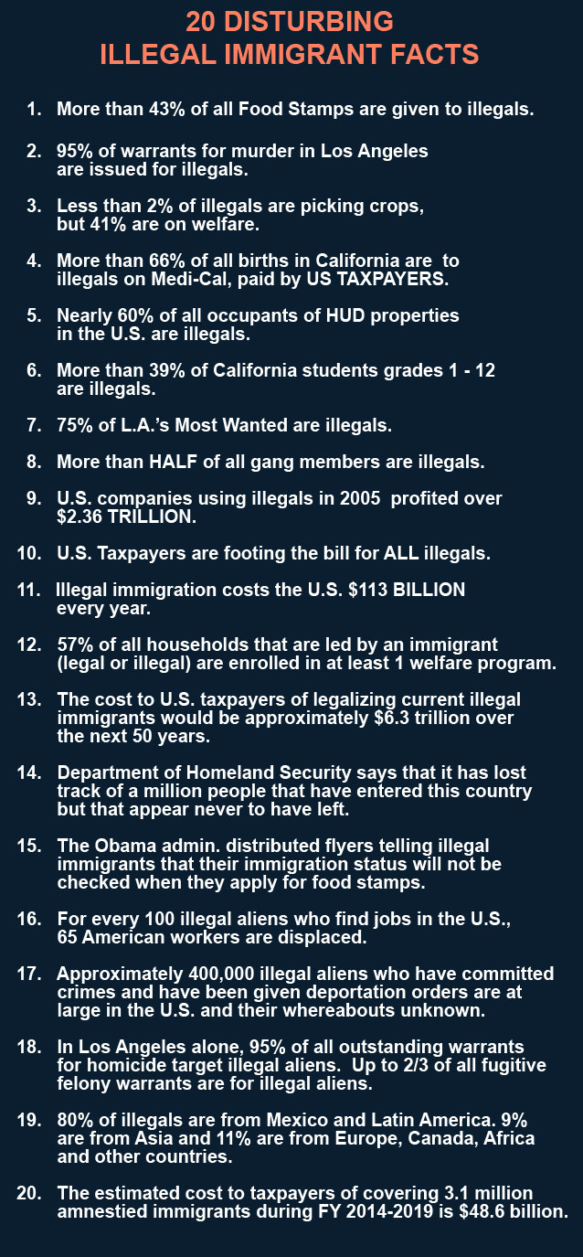 How Many Illegals Receive Food Stamps