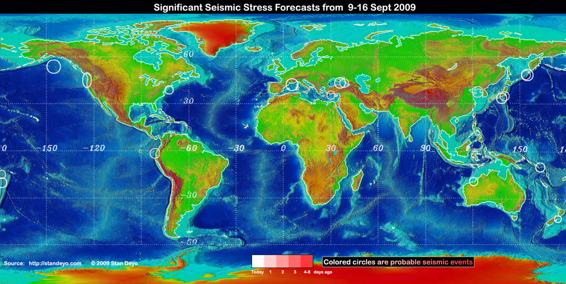Stan deyos earthquake warning disclaimer some of the forecast stress areas can be in error up to 30 due to cloud cover variations and false signals from buoys gumiabroncs Choice Image